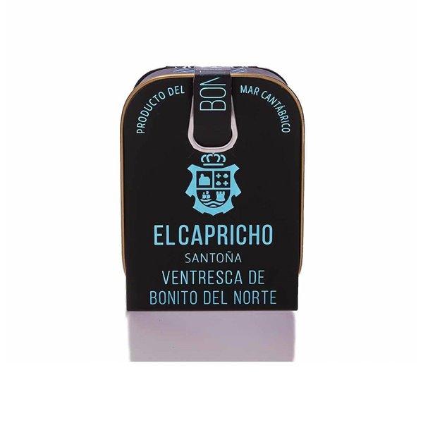 Ventresca de Bonito del Norte en aceite de girasol 110g El Capricho