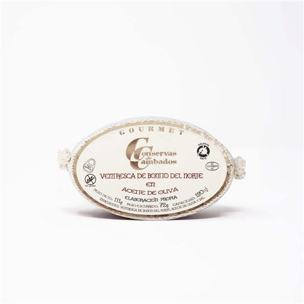 Ventresca de Bonito del Norte Gourmet 111g Conservas de Cambados