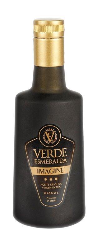 Verde Esmeralda Imagine. Aceite de Oliva Virgen Extra. Picual. 500ml