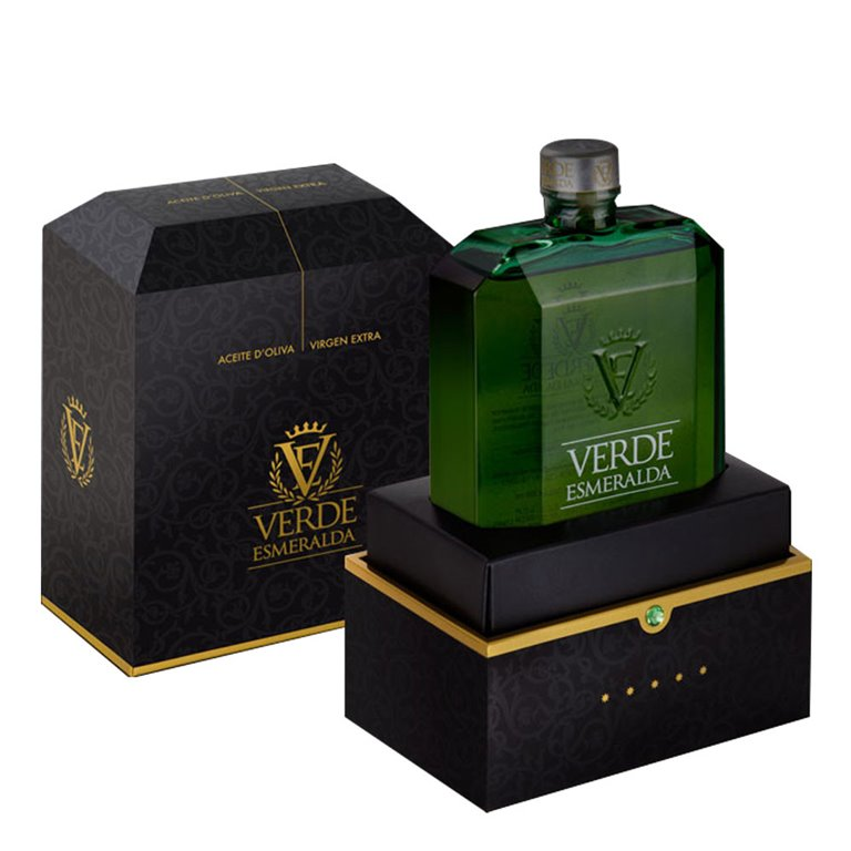 Emerald Green - Luxury - Picual - Case Bottle 500 ml