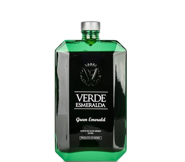 Verde Esmeralda Premium. Aceite de Oliva Virgen Extra. Picual. 500 ml