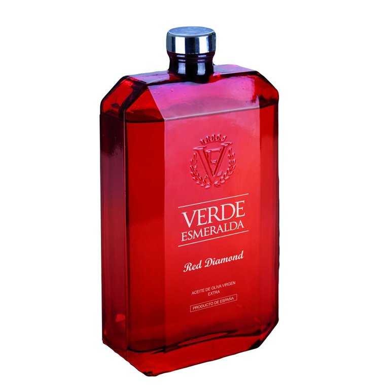 Verde Esmeralda Red Diamond. Aceite de Oliva Royal. 500 ml