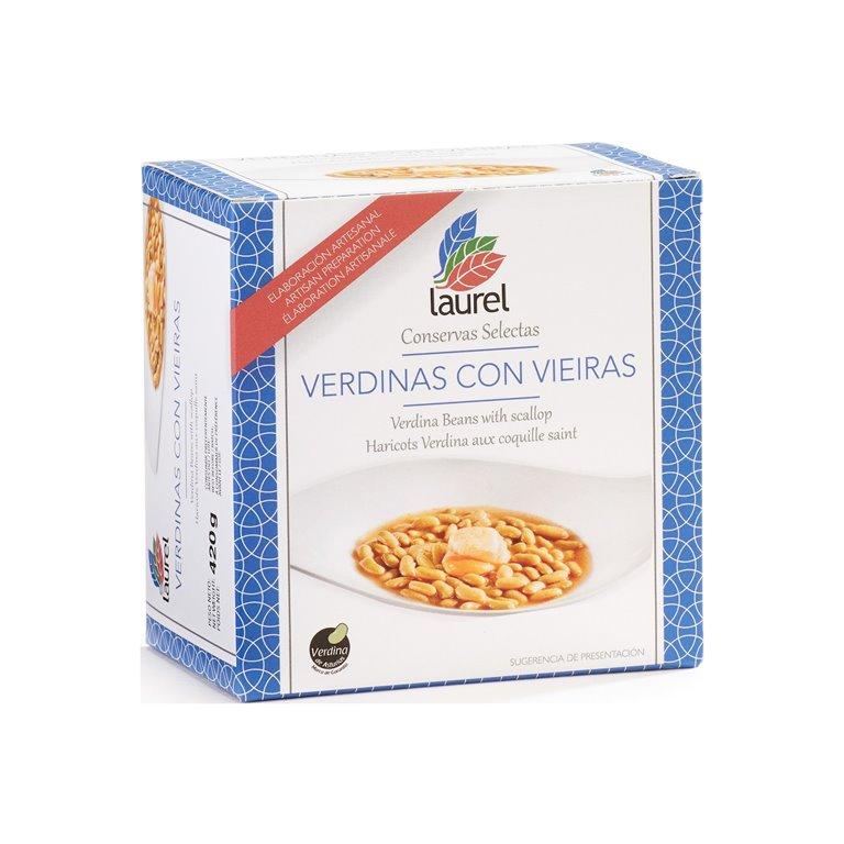 Verdinas con Vieiras, 490 gr