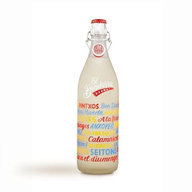 Vermouth Blanco El Bandarra 1 Litro, 1 ud