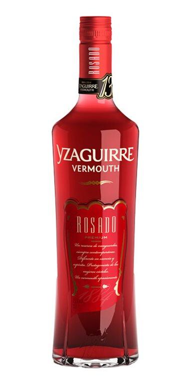 Vermouth Yzaguirre Clásico Rosado, 1 ud