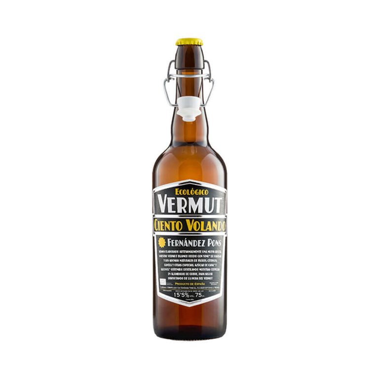 Organic white vermouth - Ciento Volando 75 cl