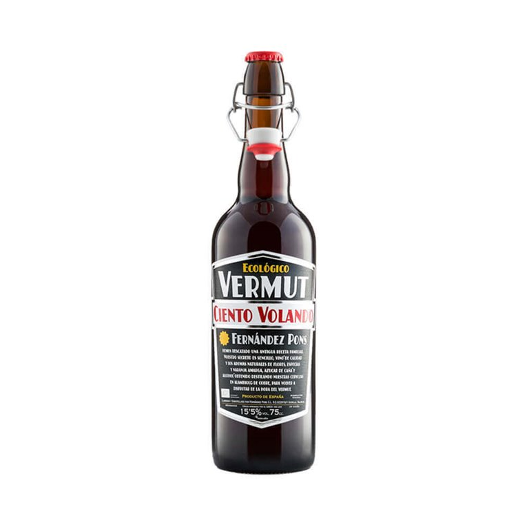 Organic Red Vermouth - Ciento Volando 75 cl