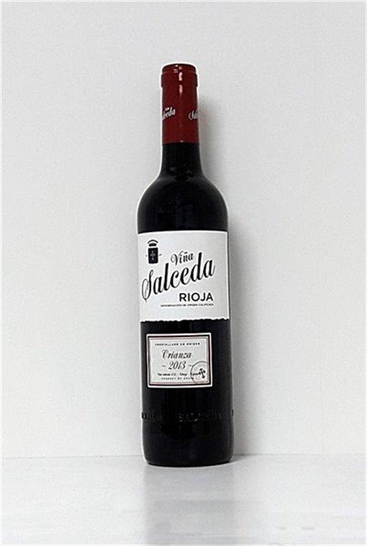 VIÑA SALCEDA - Tinto - Crianza 2014, 0,75 l