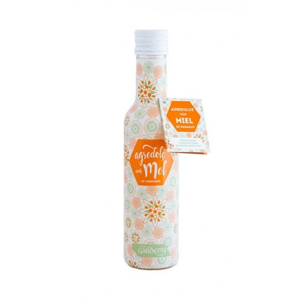 Vinagre Agridulce con Miel de Naranjo Gardeny 250 ml.