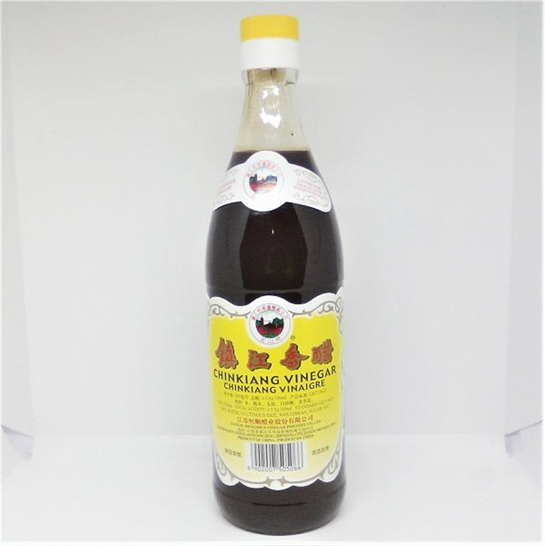 Vinagre de arroz negro Chinkiang 550ml