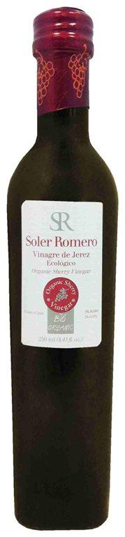 "Vinagre de Jerez ecológico ""Soler Romero"". 250 ml, 1 ud"