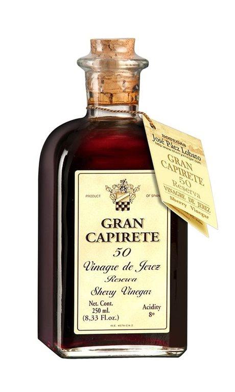 Vinagre de Jerez. Gran Capirete 50 años. 250 ml., 1 ud