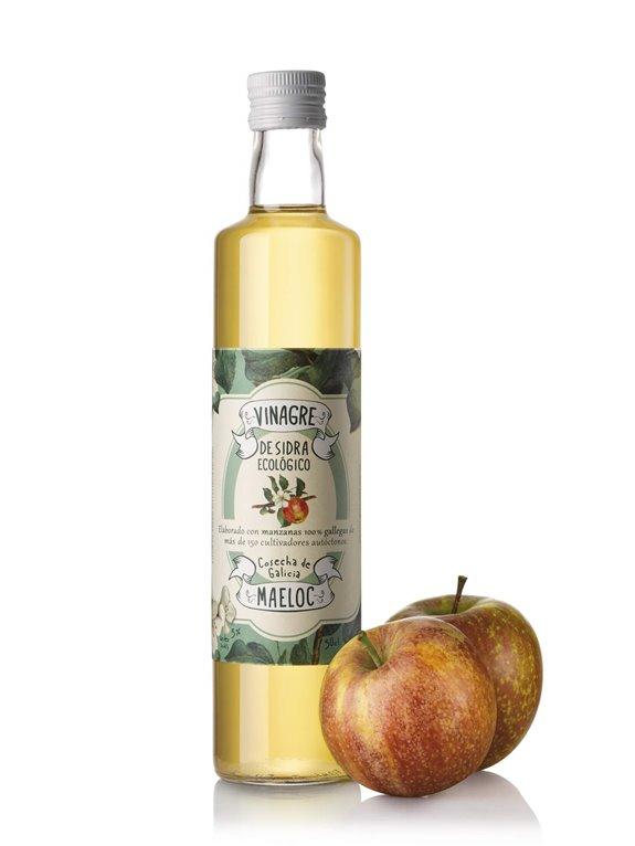 Vinagre de sidra 50 cl - Maeloc