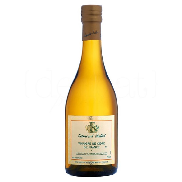 Vinagre de Sidra 50cl. Edmond Fallot. 6un., 1 ud