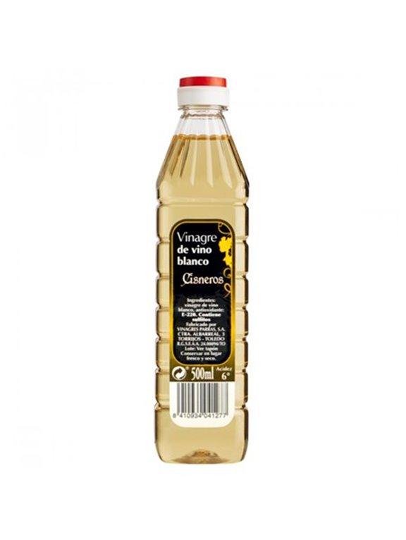 Cisneros - Vinagre de vino blanco (500 ml)