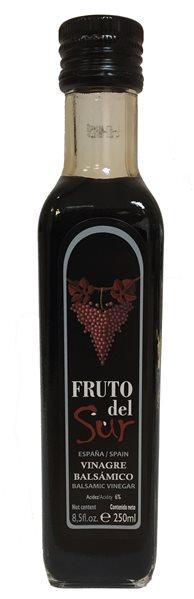 Vinagre Fruto del Sur. Caja de 20 botellas marasca de 250 ml.