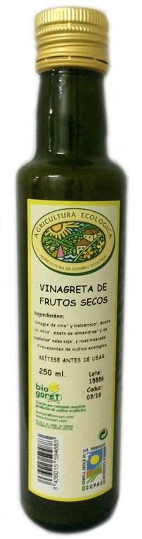 Vinagreta a los frutos secos.