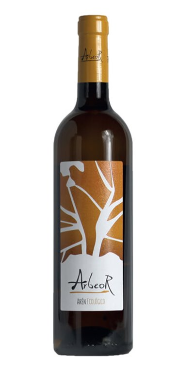 Vino Blanco Arbeor Airén Ecológico