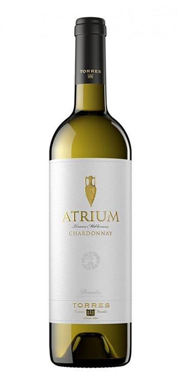 Vino Blanco Atrium Chardonnay, 1 ud