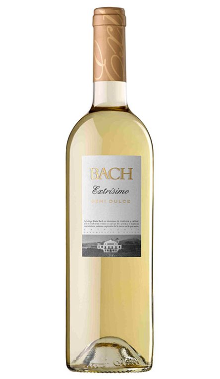 'Vino Blanco Bach Extrísimo Semi Dulce, 1 ud