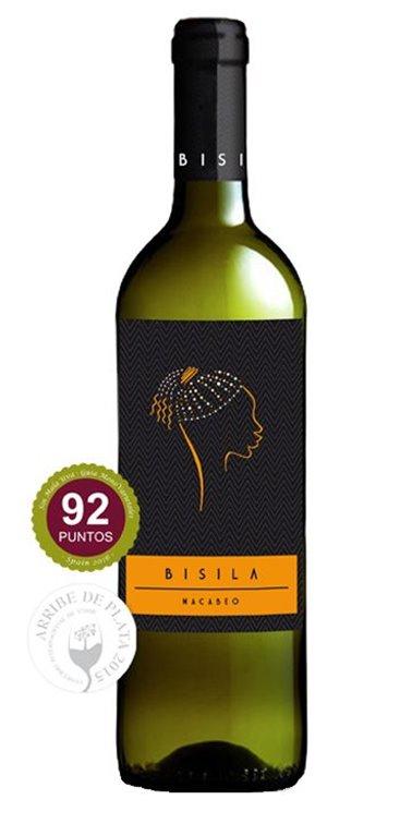 Vino Blanco Bisila Macabeo, 1 ud