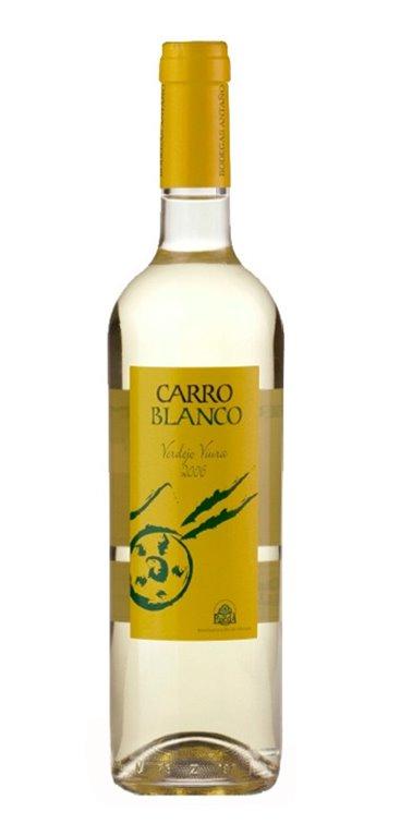 Vino Blanco Carro Blanco Joven