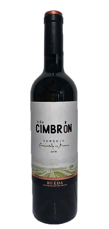 Vino Blanco Cimbrón Verdejo Fermentado en Barrica, 1 ud