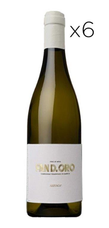 'Vino Blanco Fan D. Oro de Arzuaga Caja 6 Botellas, 1 ud