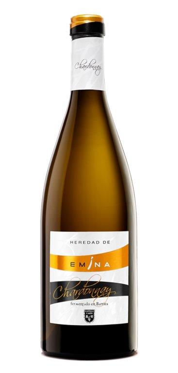 Vino Blanco Heredad de Emina Chardonnay Barrica