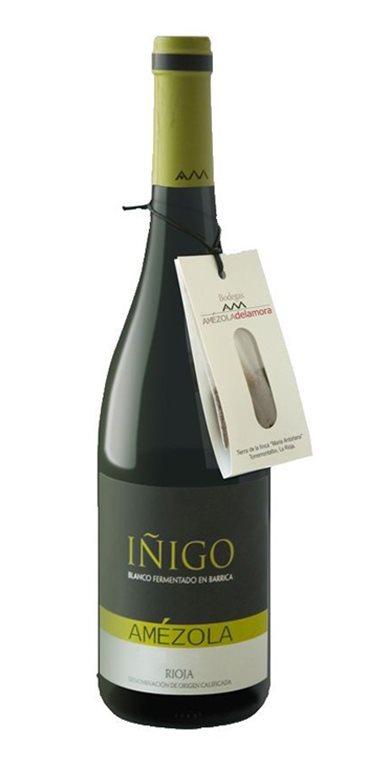Vino Blanco Iñigo Amézola Gran Reserva