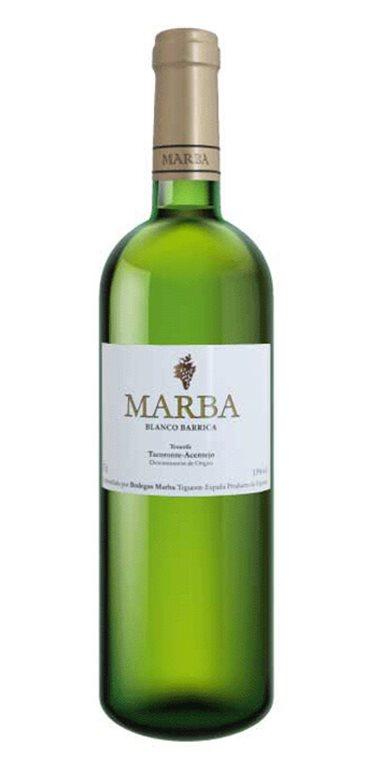 Vino Blanco Marba Barrica