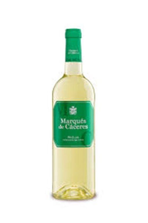 Vino blanco Marqués de Cáceres