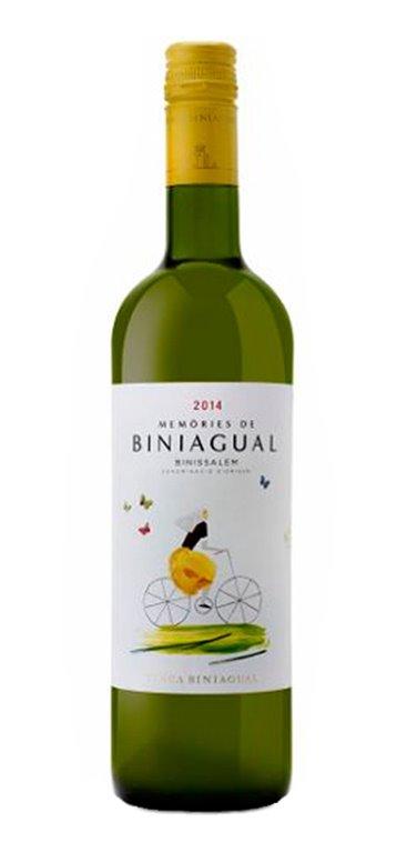 Vino Blanco Memòries de Biniagual Blanc, 1 ud