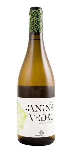 Vino Blanco Pour Janine Vedel Ecológico