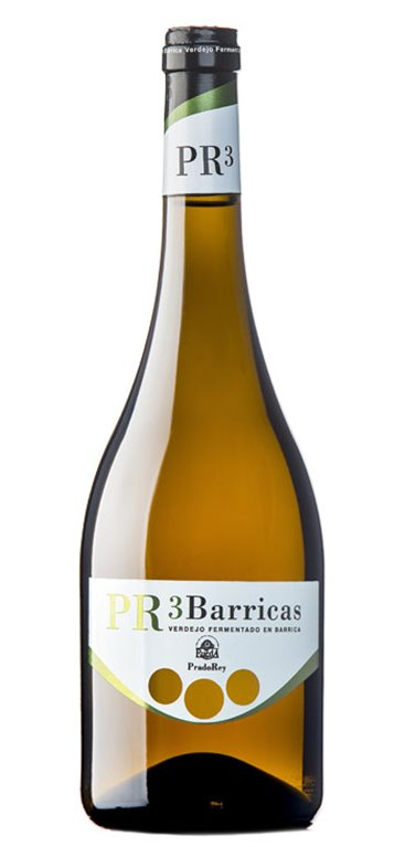 Vino Blanco Pradorey Tres Barricas