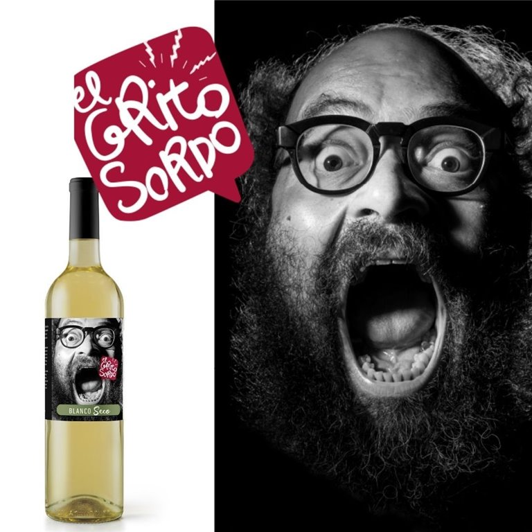 Vino Blanco Seco El Grito Sordo de Ignatius Farray
