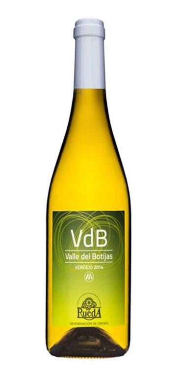 Vino Blanco Valle del Botijas Verdejo