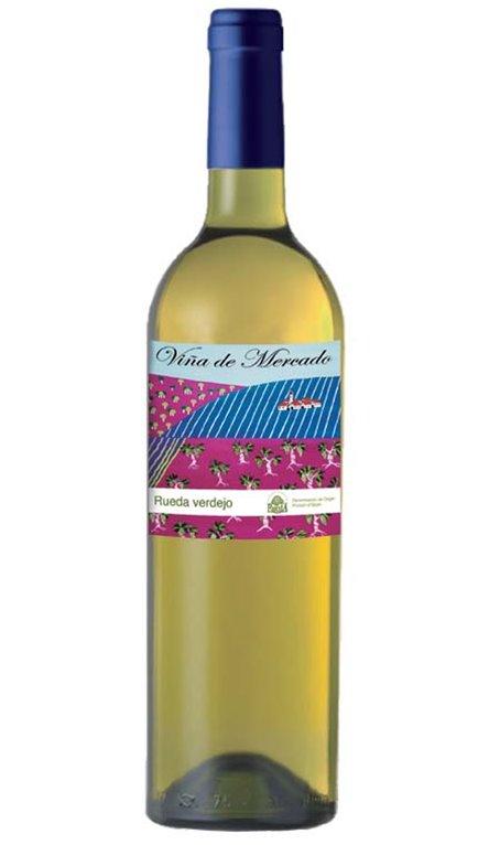 Vino Blanco Viña de Mercado Verdejo