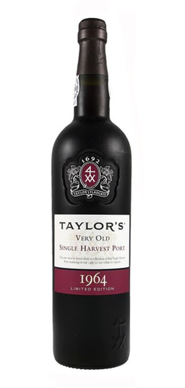 Vino Dulce Taylor's 1964 Single Harvest Porto
