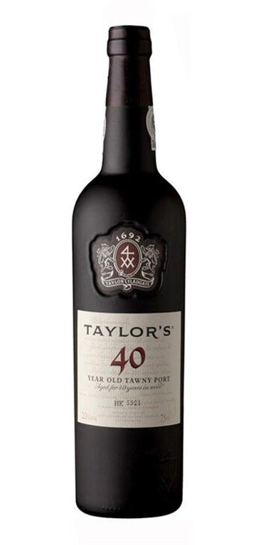 Vino Dulce Taylor's Tawny 40 años, 1 ud