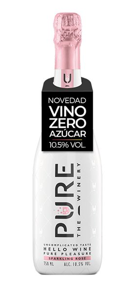 Vino Espumoso Rosado PURE The Winery
