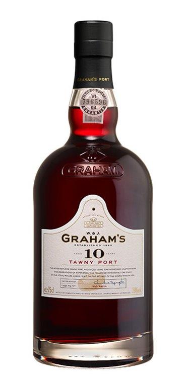 Vino Generoso Graham's Oporto Tawny 10 años, 1 ud