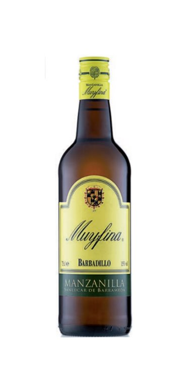 Vino Manzanilla Muy Fina, 1 ud