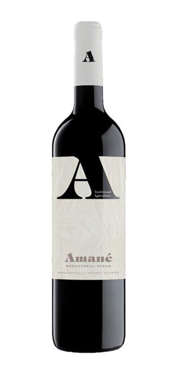 Vino Tinto Amané Monastrell - Syrah (Orgánico), 1 ud
