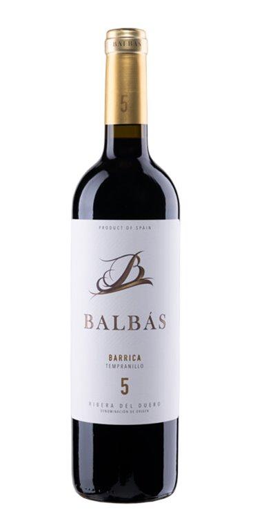 Vino Tinto Balbás Barrica, 1 ud