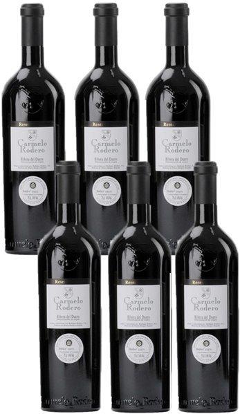 Vino Tinto Carmelo Rodero Tsm . Caja 6 Botellas
