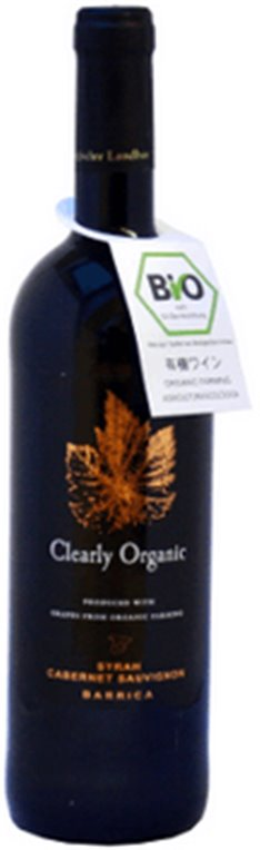 Vino Tinto Clearly Organic, 1 ud
