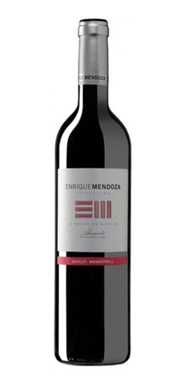 'Vino Tinto Crianza Enrique Mendoza Merlot-monastrell