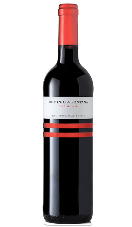 Vino Tinto  Dominio De Fontana Roble 75cl, 1 ud