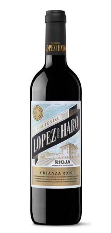 'Vino Tinto Hacienda Lopez de Haro Crianza, 1 ud